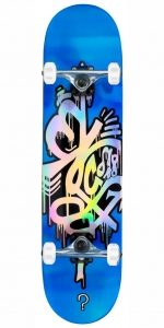 "Enuff Hologram skateboard | 8"" Blue"