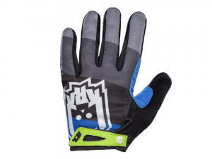 KRKpro rukavice Pamper Blue/Black/Grey | BMX MTB